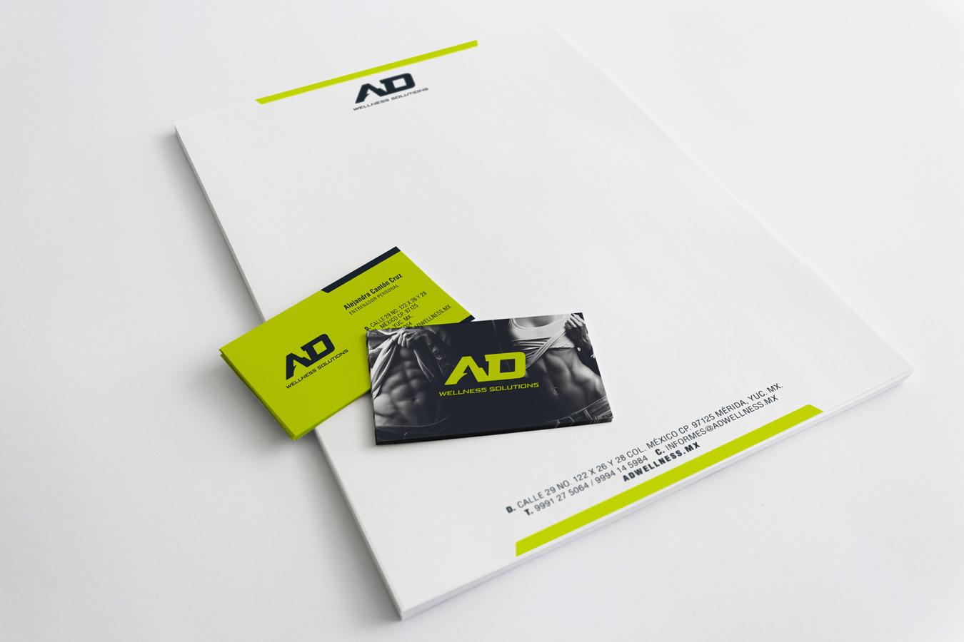 AD Wellness Solutions - Branding